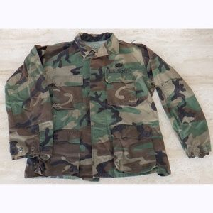 Other - ARMY Camouflage Combat Woodland pattern jacket